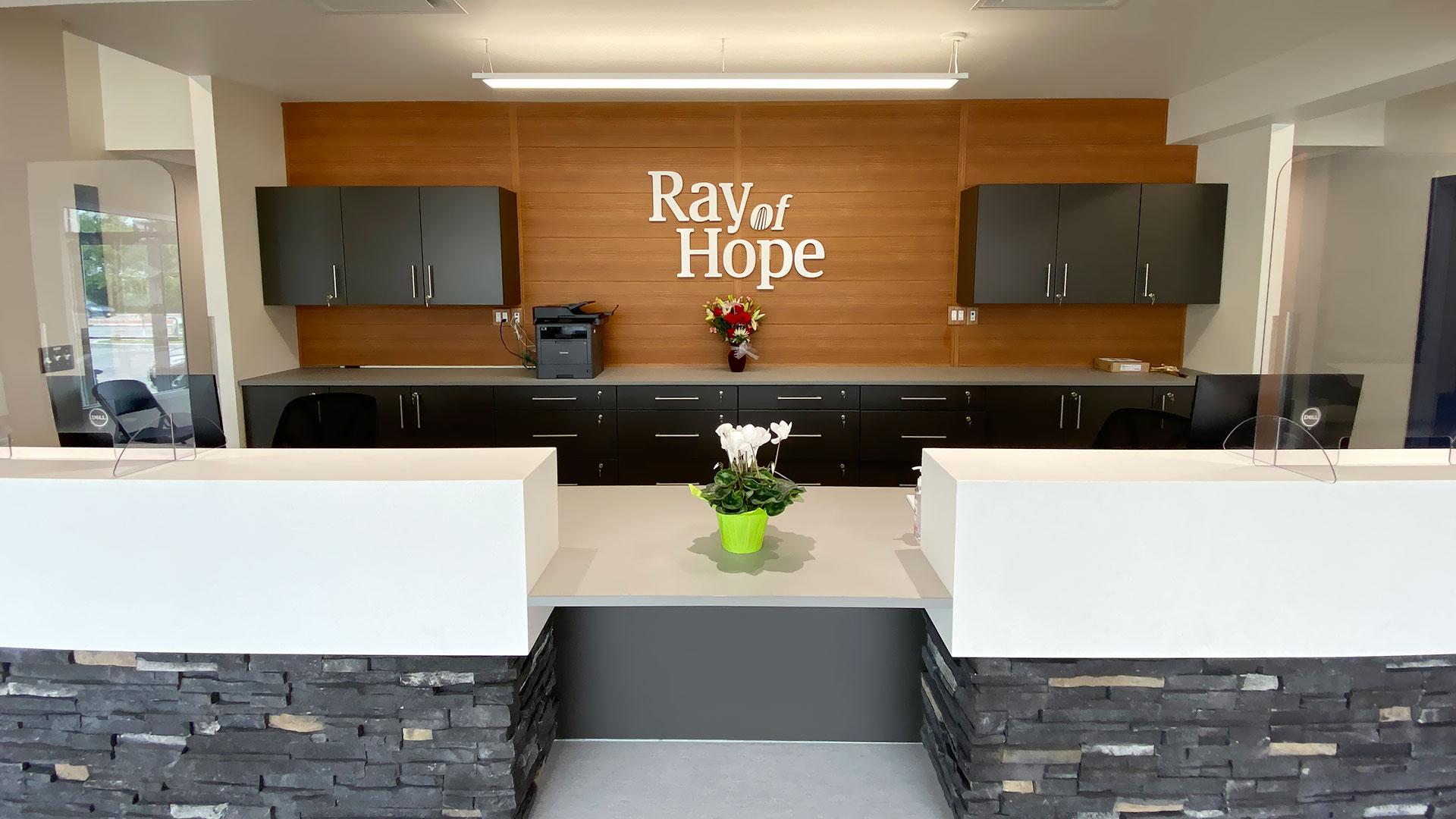 Ray Of Hope front desk